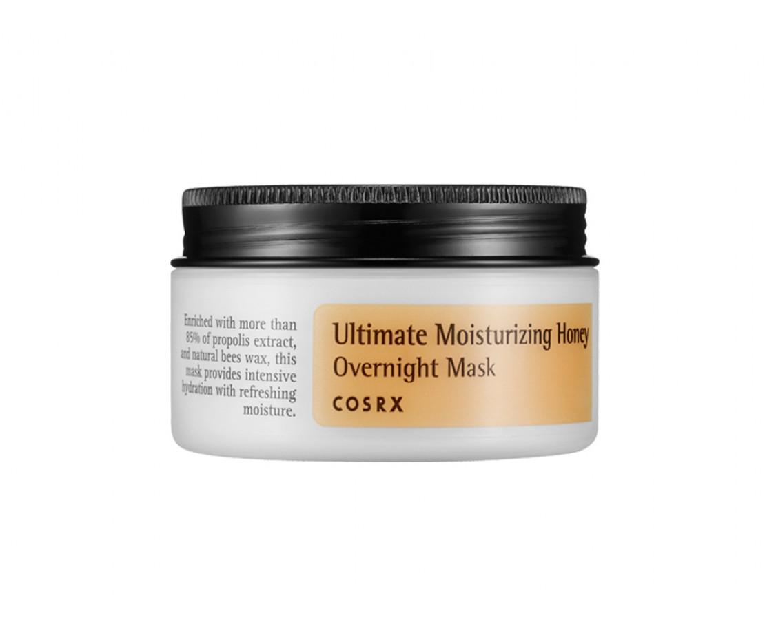 CosRX Ultimate Moisturizing Honey Overnight Mask - Naktinė kaukė veidui