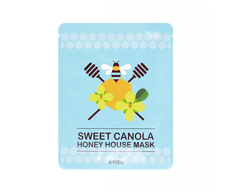 A'pieu Sweet Canola Honey House Mask - veido kaukė