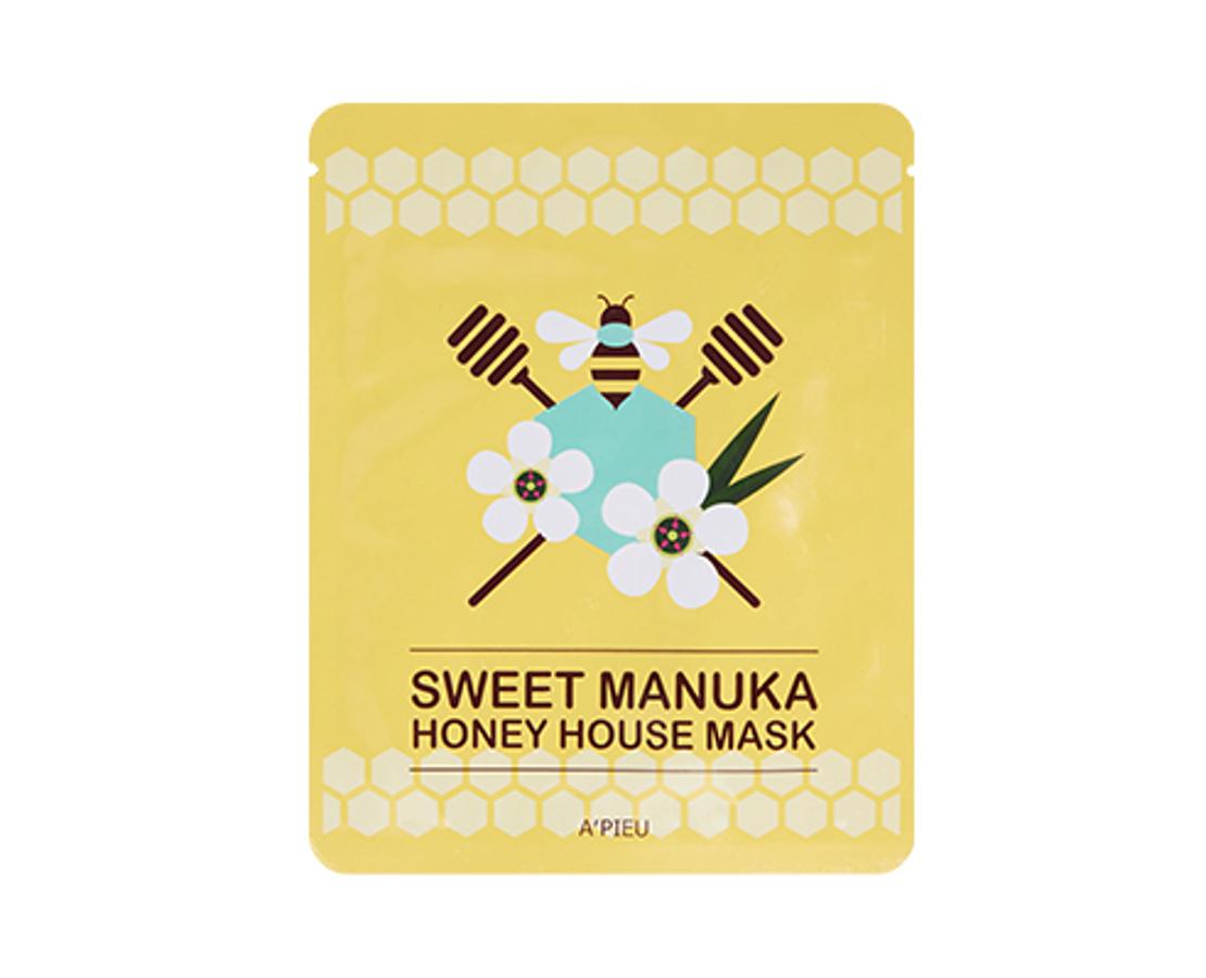 IŠPARDUOTA. A'pieu Sweet Manuka Honey House Mask - veido kaukė