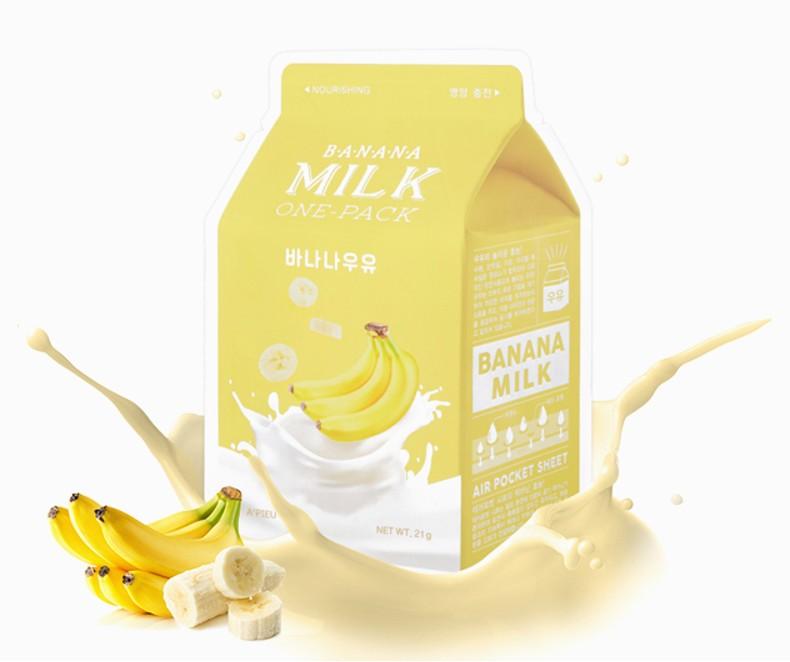 A'pieu Banana Milk Kaukė (maitinanti)