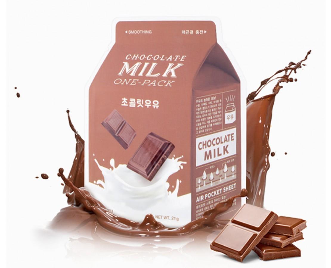 IŠPARDUOTA. A'pieu Chocolate Milk Kaukė (švelninanti)