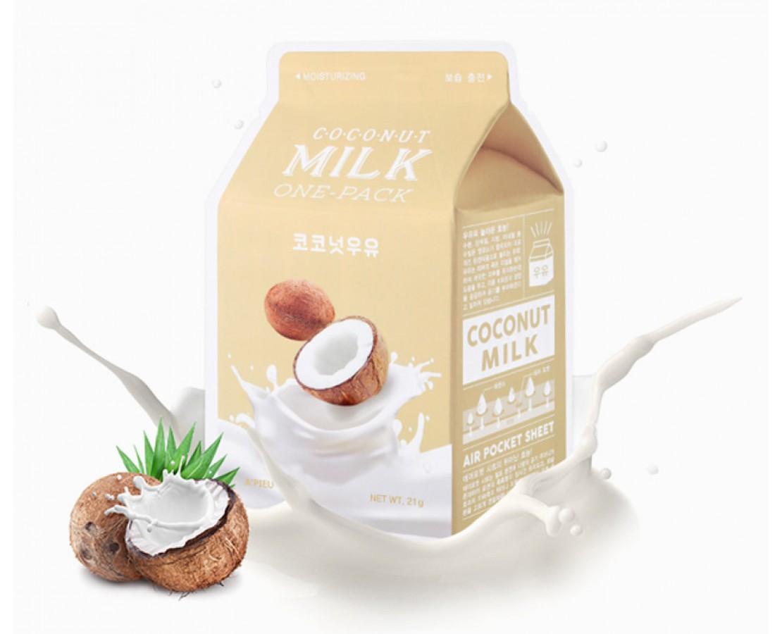 A'pieu Coconut Milk Kaukė (drėkinanti)