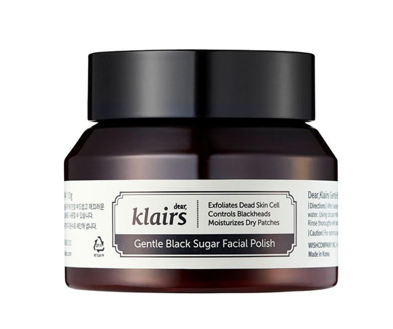 ATNAUJINTAS! Klairs Gentle Black Sugar Facial Polish - Šveitiklis
