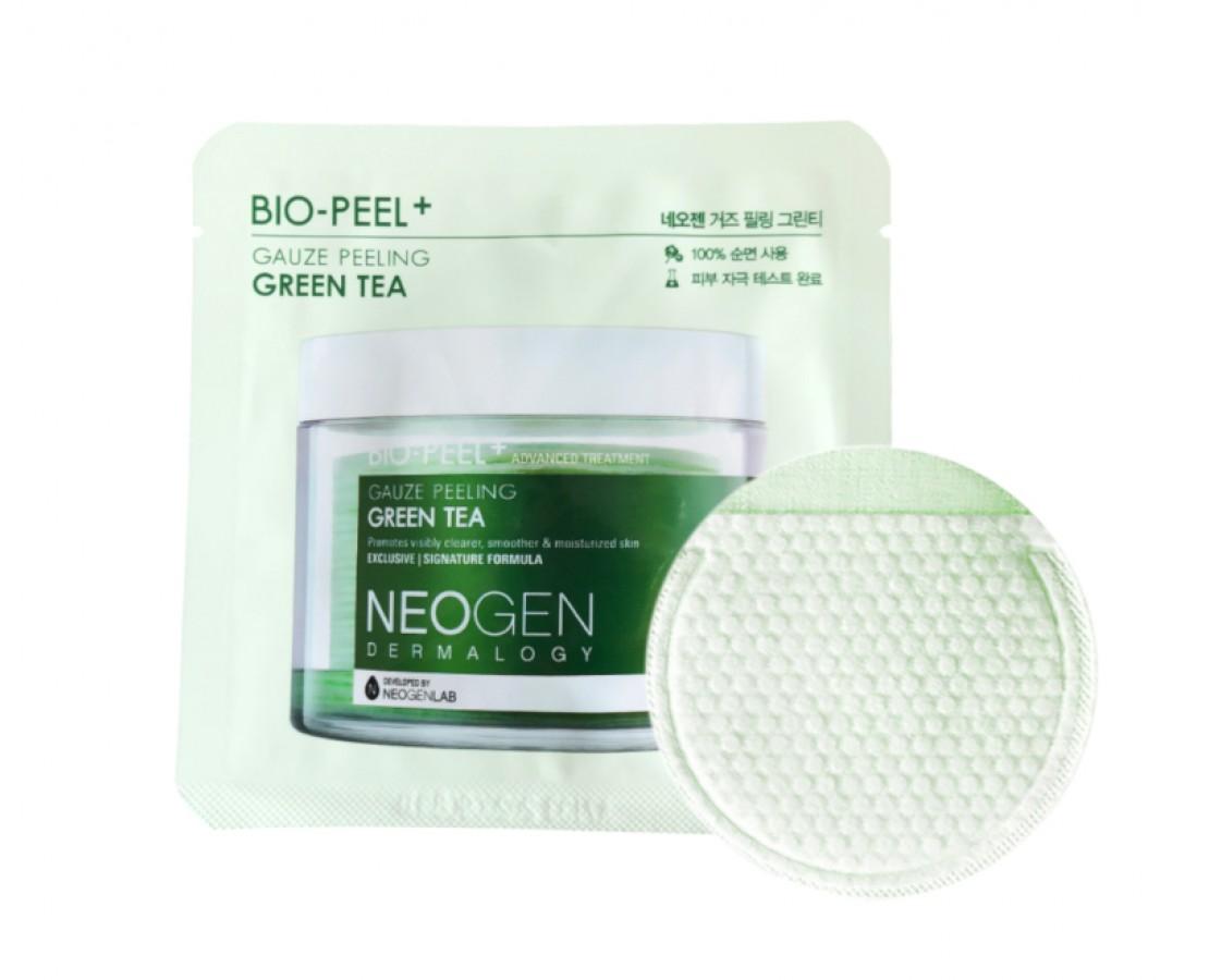 NEOGEN Dermatology Bio-peel Gauze Peeling Green Tea - eksfoliuojantis diskelis (1vnt.)