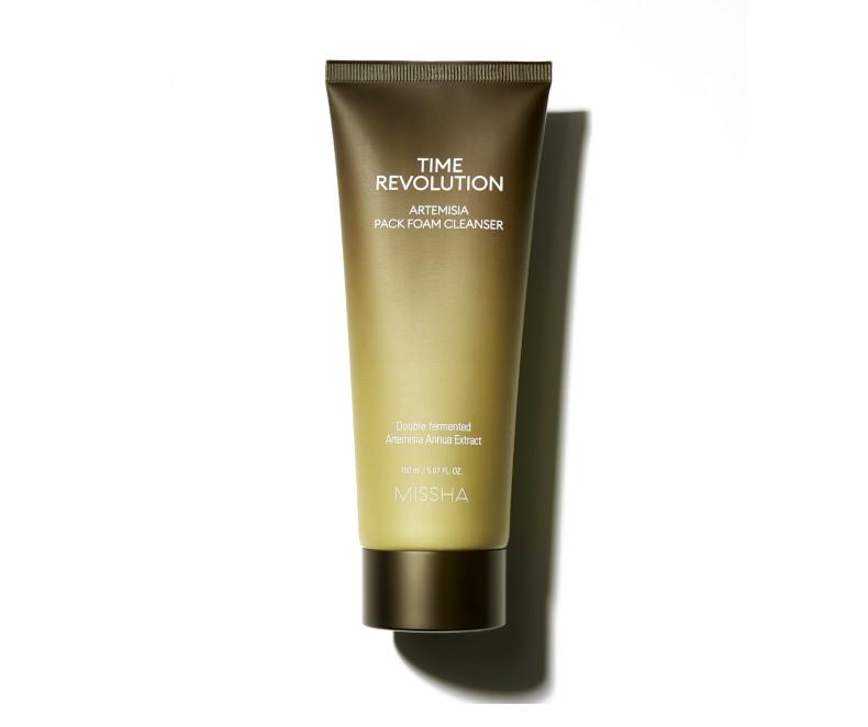 Missha Time Revolution Artemisia Pack Foam Cleanser - prausiklis-kaukė