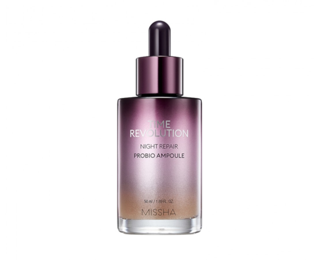 ATNAUJINTA! Missha Time Revolution Night Repair Probio Ampoule - ampulė