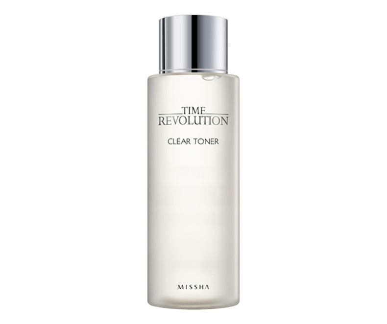 Missha Time Revolution Clear Toner - tonikas
