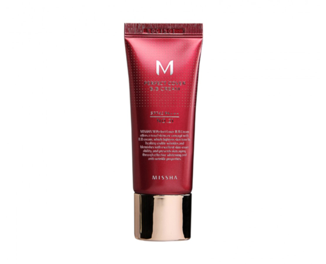 Missha M Perfect Cover BB Cream - BB kremas #25 (20ml)