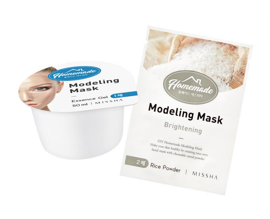 Missha Homemade Modelling Mask (Rice) - modeliuojanti kaukė (skaistinanti)